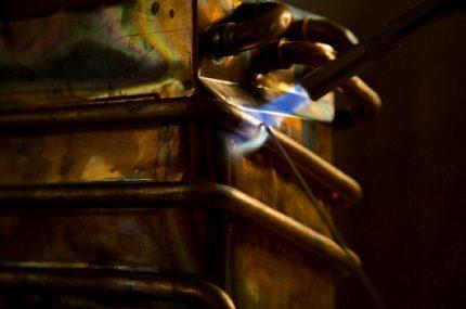 Tubes de cuivre d'échangeur de chaleur de brasage