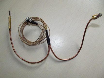 Chaudière à gaz à thermocouple