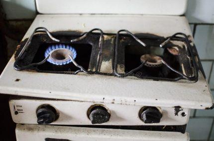 Élimination des cuisinières à gaz