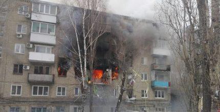 Explosion de gaz dans l'appartement