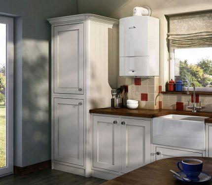 New kitchen column