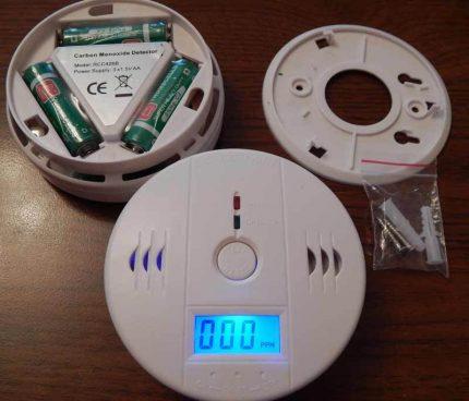 Jutiklio baterijos