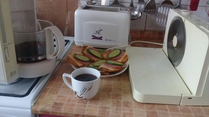 Electrical appliances in the kitchen