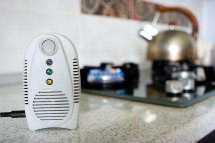 Gas leakage sensor