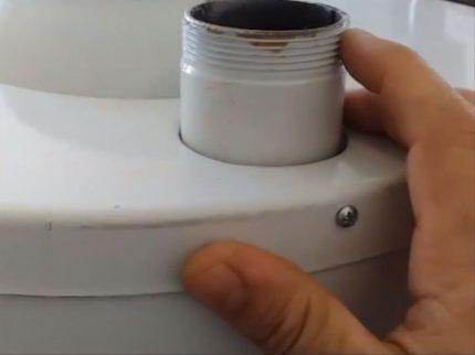 Pas de rouille dans la chaudière