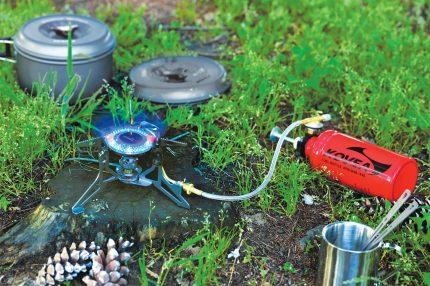 Réglage de la flamme du brûleur à gaz
