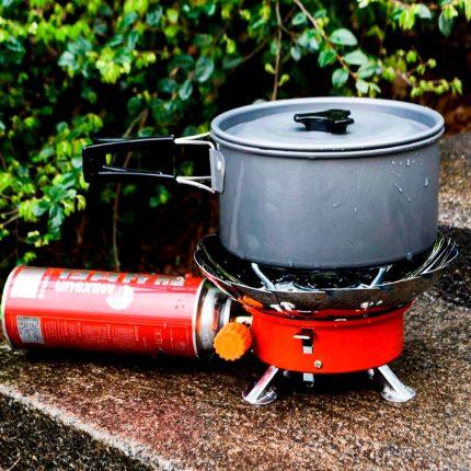 Système de protection contre le vent du brûleur