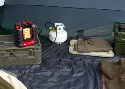 Modèle de chauffe-tente infrarouge