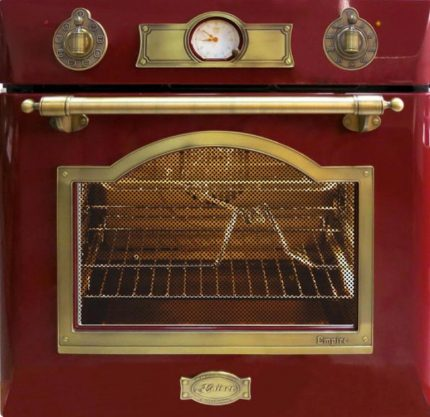 Oven with timer