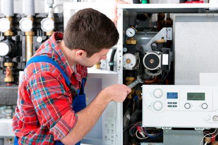 Réparation chaudière à gaz