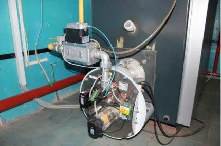 Chaudières à gaz à usage industriel