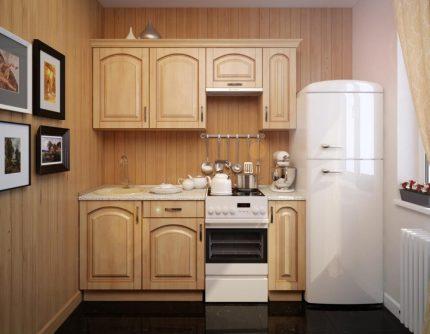 Réfrigérateur de cuisine