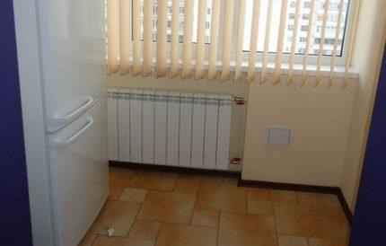 Retrait du réfrigérateur au radiateur