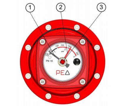 Indicateurs de pression différentielle de gaz