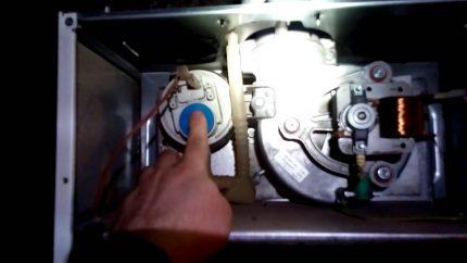 Pressostat et turbine