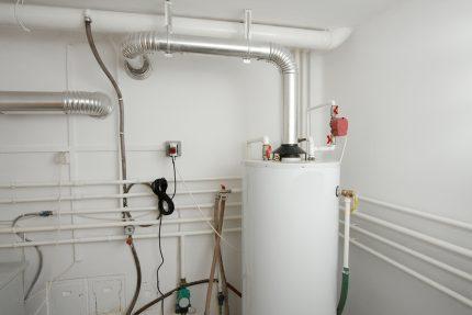 Gas boiler wiring