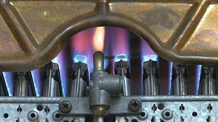 Brûleurs de chaudière à gaz