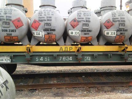 Tanks for transportation
