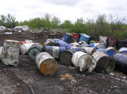 Barrels for odorant