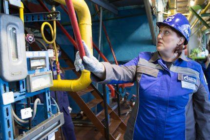 Gas boiler room operator