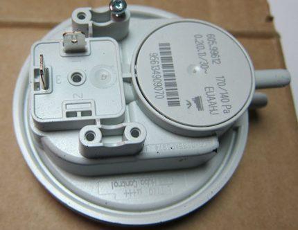 Relais pour chaudière à gaz Bosch
