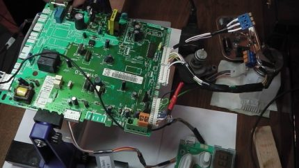 Réparation de panneau de chaudière
