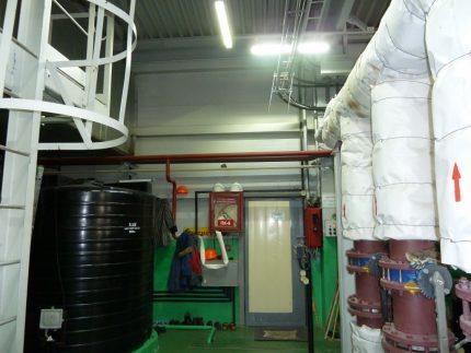 Boiler Emergency Lighting