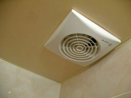 Placing a vent in a stretch ceiling