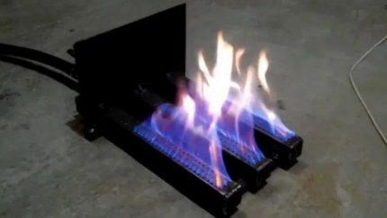 Le principe de fonctionnement des brûleurs à gaz