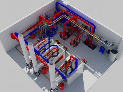 Gas boiler design