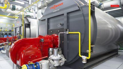 Production boiler room