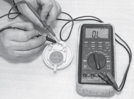 Procédure de vérification du testeur de pression