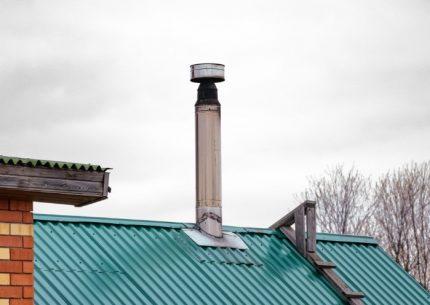 Déflecteur de cheminée