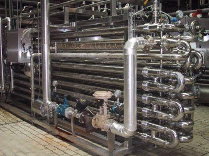 Échangeur de chaleur en forme de bobine