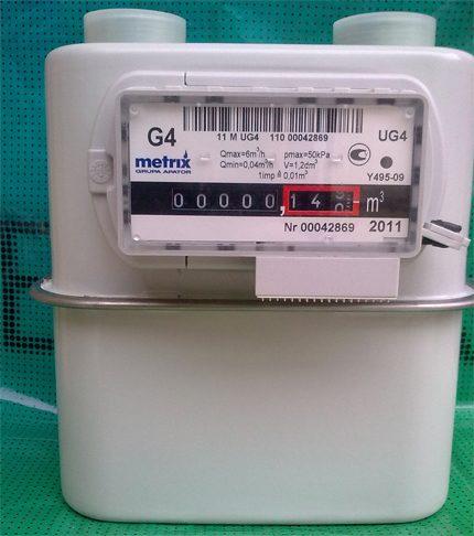 Compteur de gaz UniSmart