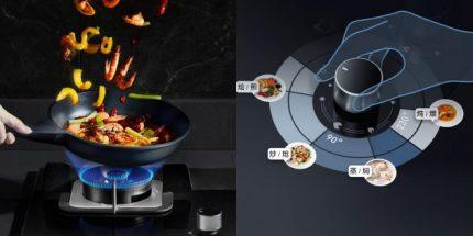 Smart gas stove