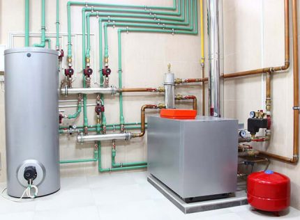 Rules for installing boilers