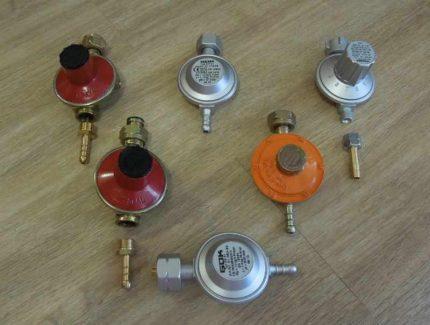 Réducteur pour bouteille de gaz