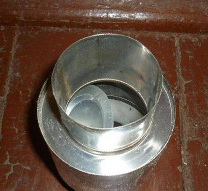 Chimney check valve