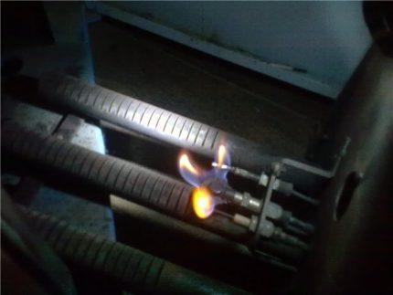 Brûleur de chaudière d'allumage