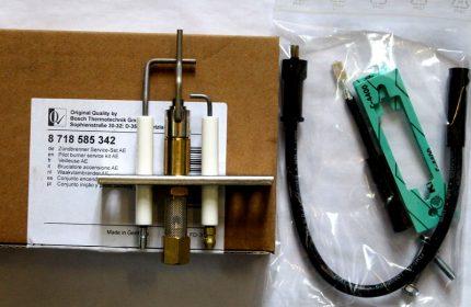 Dispositif d'allumage AE pour chaudière à gaz