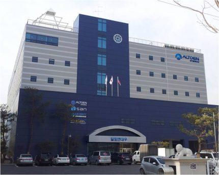 Production facilities of Daewoo subsidiary