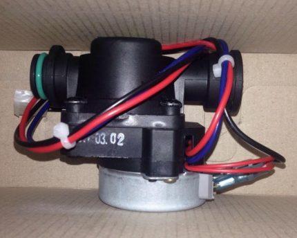 Three-way valve for boiler repair