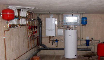 Installation of gas equipment