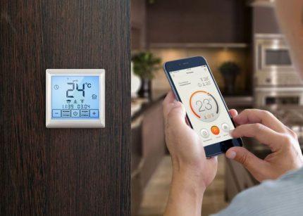 Réglage d'une température ambiante confortable