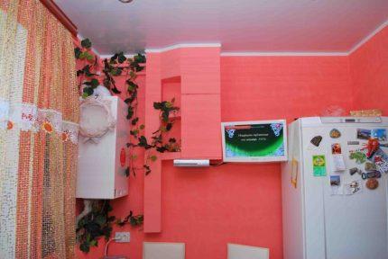 Drywall counter box
