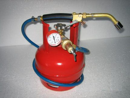 Brûleur et cylindre