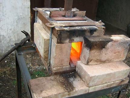 Forge à domicile simplifiée en action