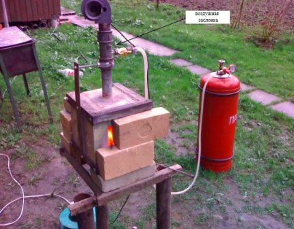 Matériel de forgeage pour le carburant en bouteille