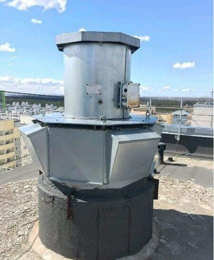 Roof Fan Concrete Cup
